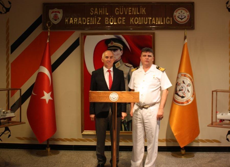 Bölge Müdürümüzün Sahil Güvenlik Karadeniz Bölge Komutanını Ziyareti