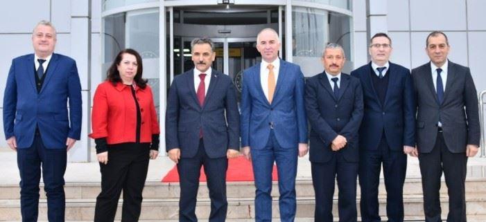 Samsun Valisi Sayın Osman KAYMAK'ın Bölge Müdürlüğümüzü Ziyareti