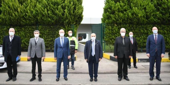 Samsun Valisi Sayın Dr. Zülkif Dağlı'nın Ziyareti